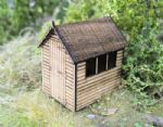 Gaugemaster Structures GM453  Garden Shed Laser Cut Kit